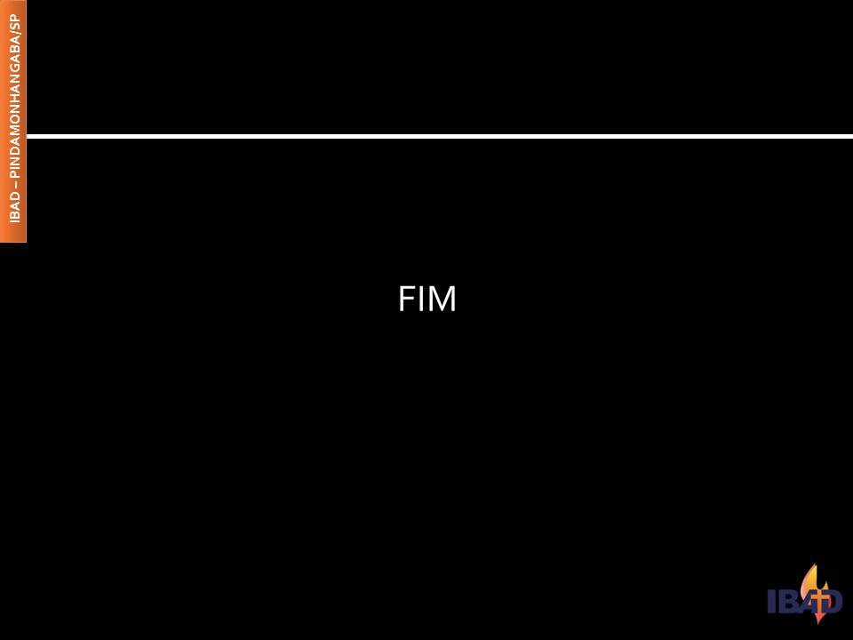 FIM IBAD – PINDAMONHANGABA/SP