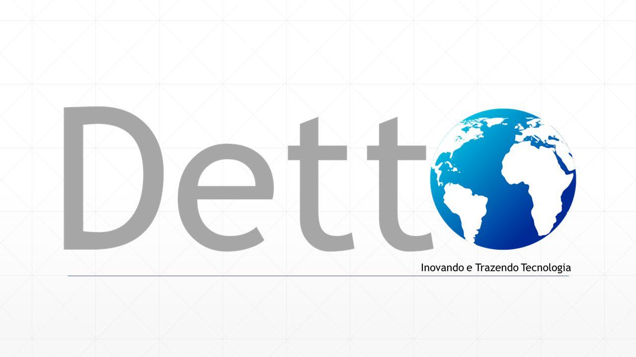 Um pouco sobre nós A Detto tem como alvo a satisfação de seus cliente, por isto contamos com colaboradores com mais de 8 anos de experiência no mercado.