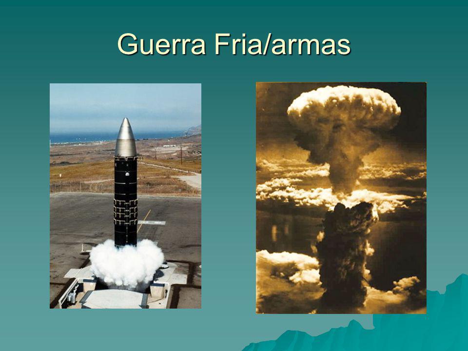 Guerra Fria/armas