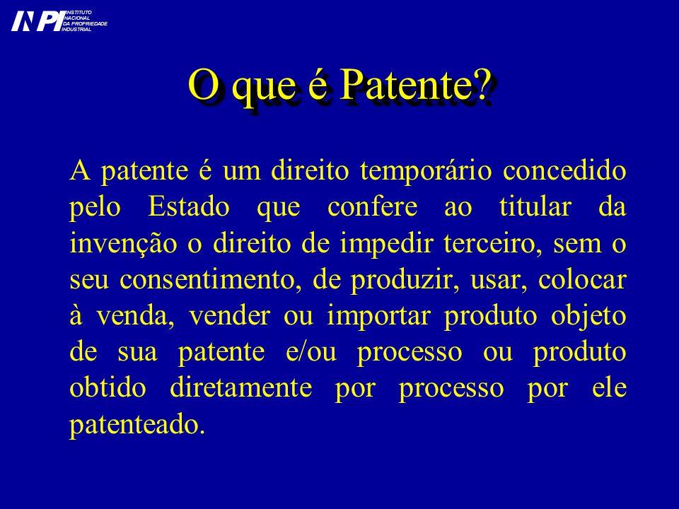 O que é Patente.