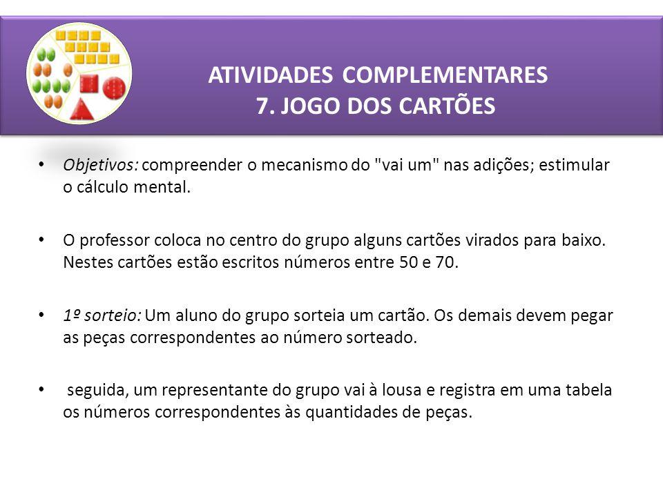 ATIVIDADES COMPLEMENTARES 7.
