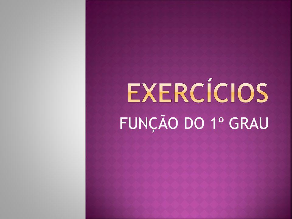 Determine o valor do zero das funções abaixo: a) f(x) = b) y = 4x - 12 c) f(x) = d) y = -9 - x