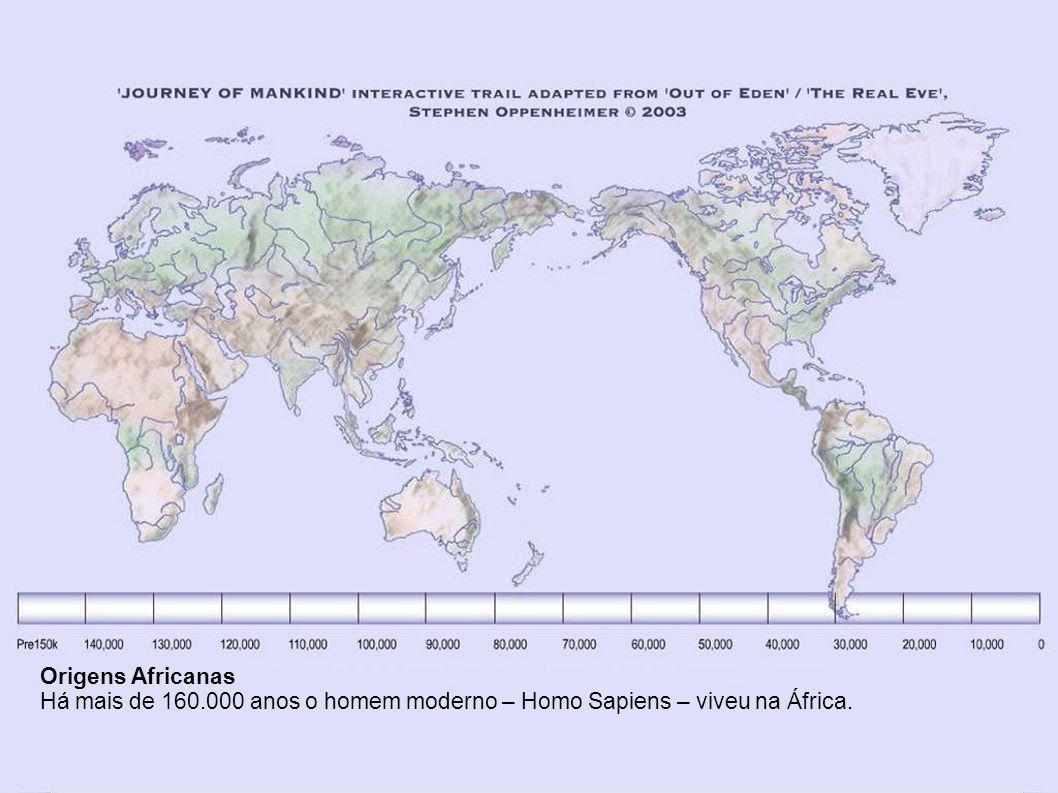 A JORNADA DA HUMANIDADE O Povoamento da Terra A Fundação Bradshaw, em associação com Stephen Oppenheimer, apresenta a jornada global virtual do homem moderno nos últimos 160.000 anos.