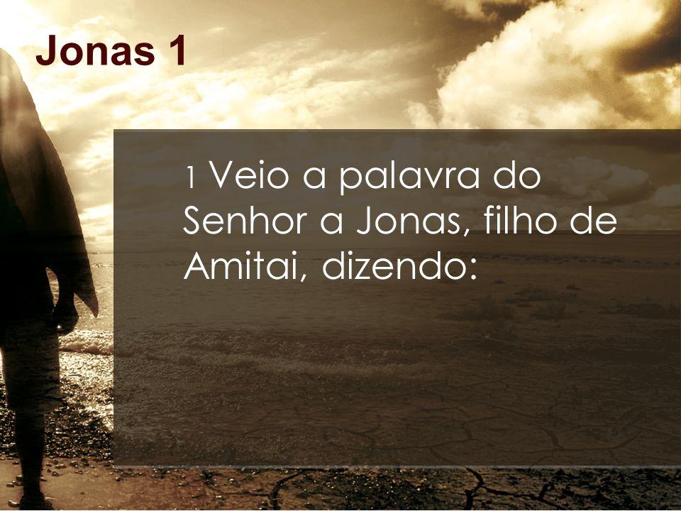 Jonas 1 12 Respondeu-lhes: Tomai-me e lançai-me ao mar, e o mar se aquietará, porque eu sei que, por minha causa, vos sobreveio esta grande tempestade.