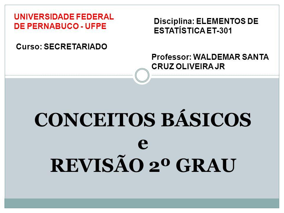 COMBINATÓRIA REVISÃO 2º GRAU