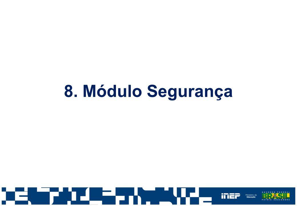 8. Módulo Segurança