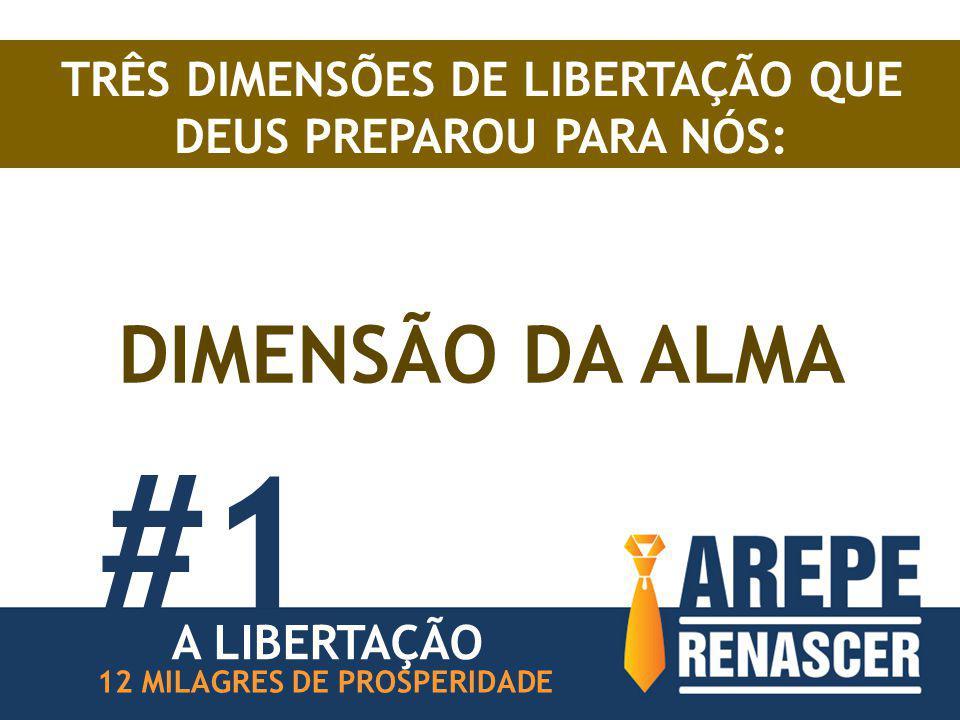 TRÊS DIMENSÕES DE LIBERTAÇÃO QUE DEUS PREPAROU PARA NÓS: DIMENSÃO DA ALMA #1 12 MILAGRES DE PROSPERIDADE A LIBERTAÇÃO