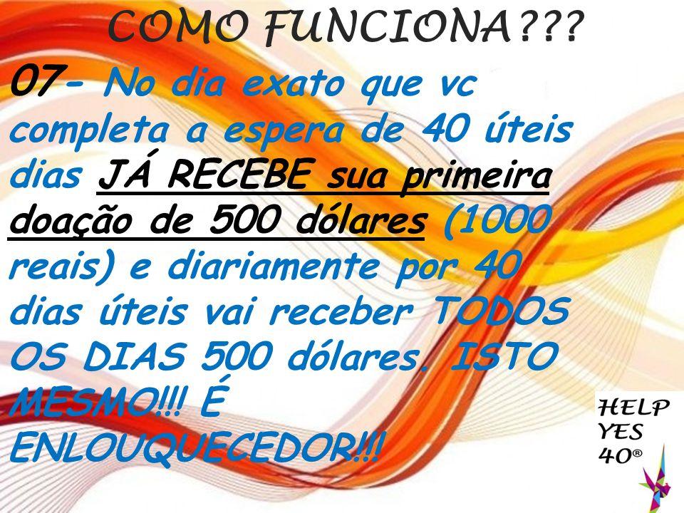 COMO FUNCIONA??.