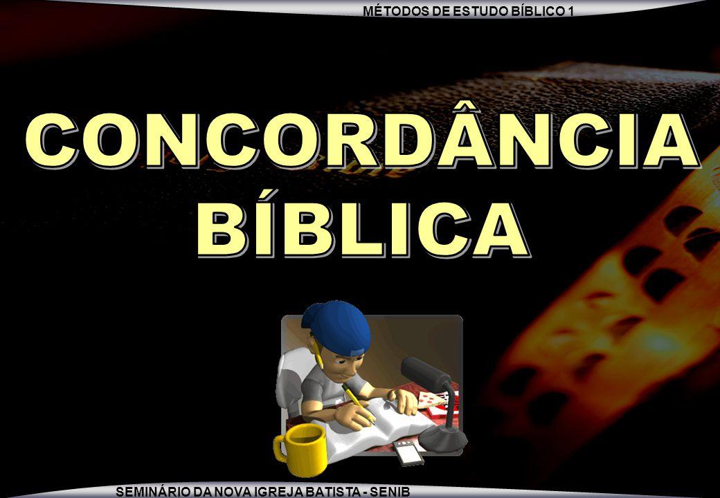 MÉTODOS DE ESTUDO BÍBLICO 1 SEMINÁRIO DA NOVA IGREJA BATISTA - SENIB 4 Você gosta de banana?