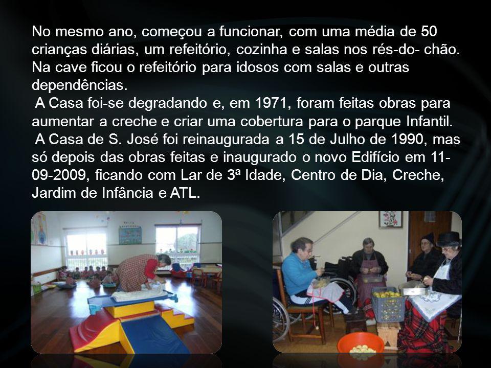 """Associação Social """" Abrigo Familiar Casa de São José"""" É uma instituição particular de Solidariedade Social de Natureza associativa de utilidade públic"""