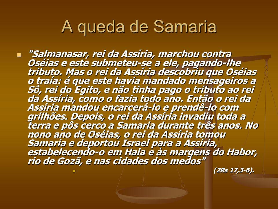 A queda de Samaria