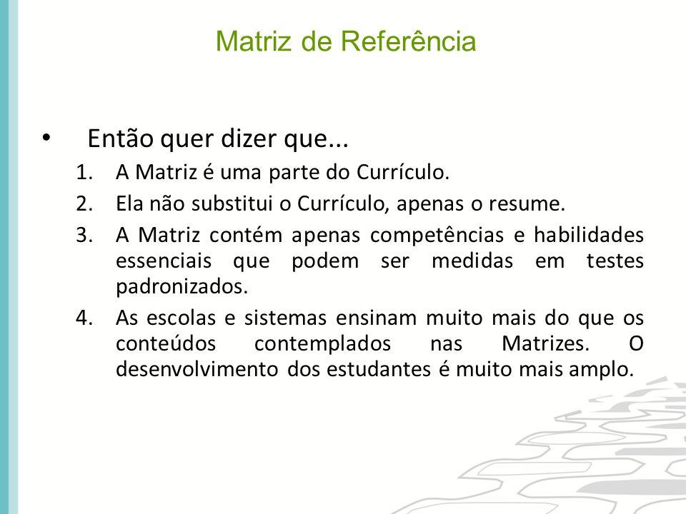 Matriz de Referência (1)