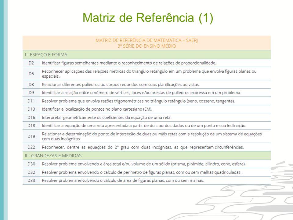 Matriz de Referência (2)