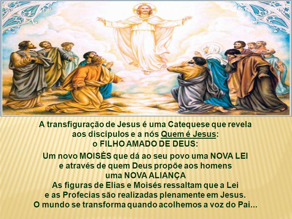 O Evangelho fala da fé dos Apóstolos: (Mc 9,2-10) Na caminhada para Jerusalém, o 1º Anúncio da Paixão e Morte de Jesus abalou profundamente a fé dos apóstolos.