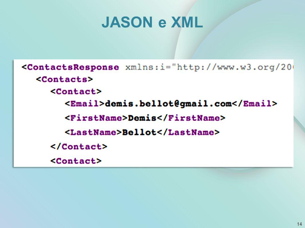 14 JASON e XML