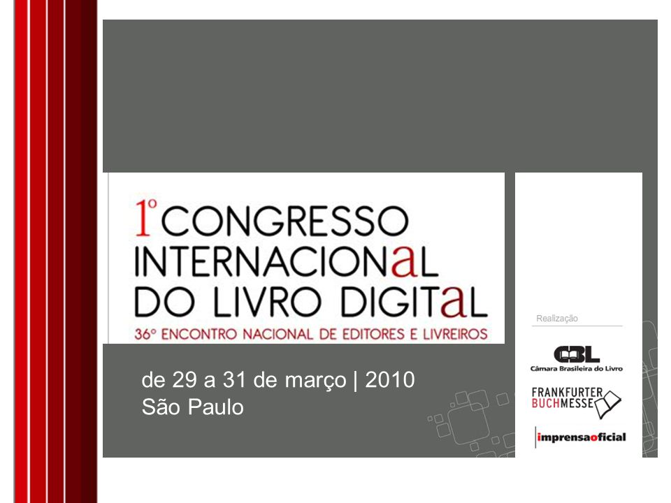 de 29 a 31 de março | 2010 São Paulo