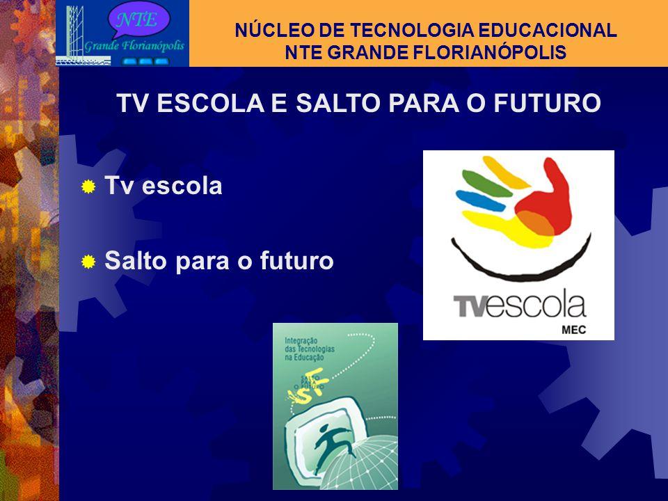 NÚCLEO DE TECNOLOGIA EDUCACIONAL NTE GRANDE FLORIANÓPOLIS HIPERTEXTO Novas formas de aprender Por sua característica, o usuário interliga informações