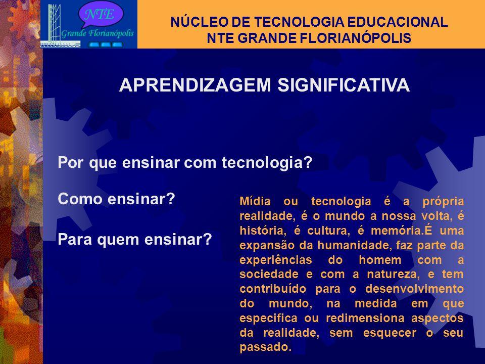  Tv escola  Salto para o futuro NÚCLEO DE TECNOLOGIA EDUCACIONAL NTE GRANDE FLORIANÓPOLIS TV ESCOLA E SALTO PARA O FUTURO
