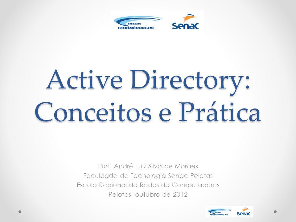 Active Directory: Conceitos e Prática Prof.