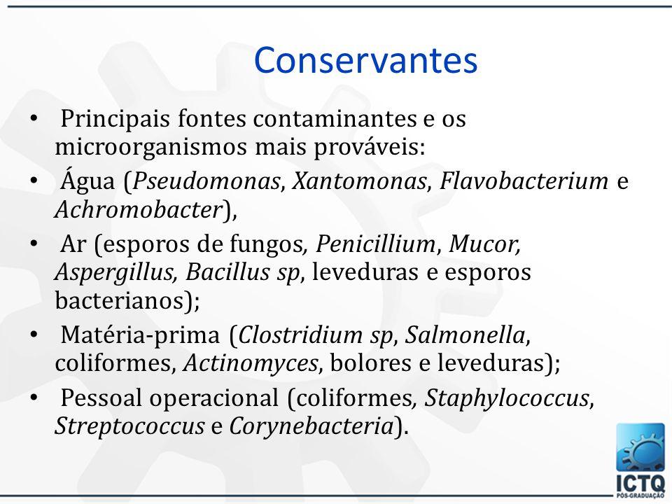 Conservantes  Sistema conservante (RDC(s) 161 e 162 de 11/09/01; 38 de 21/03/01 da ANVISA, que consta a lista de conservantes, corantes, filtros UV p
