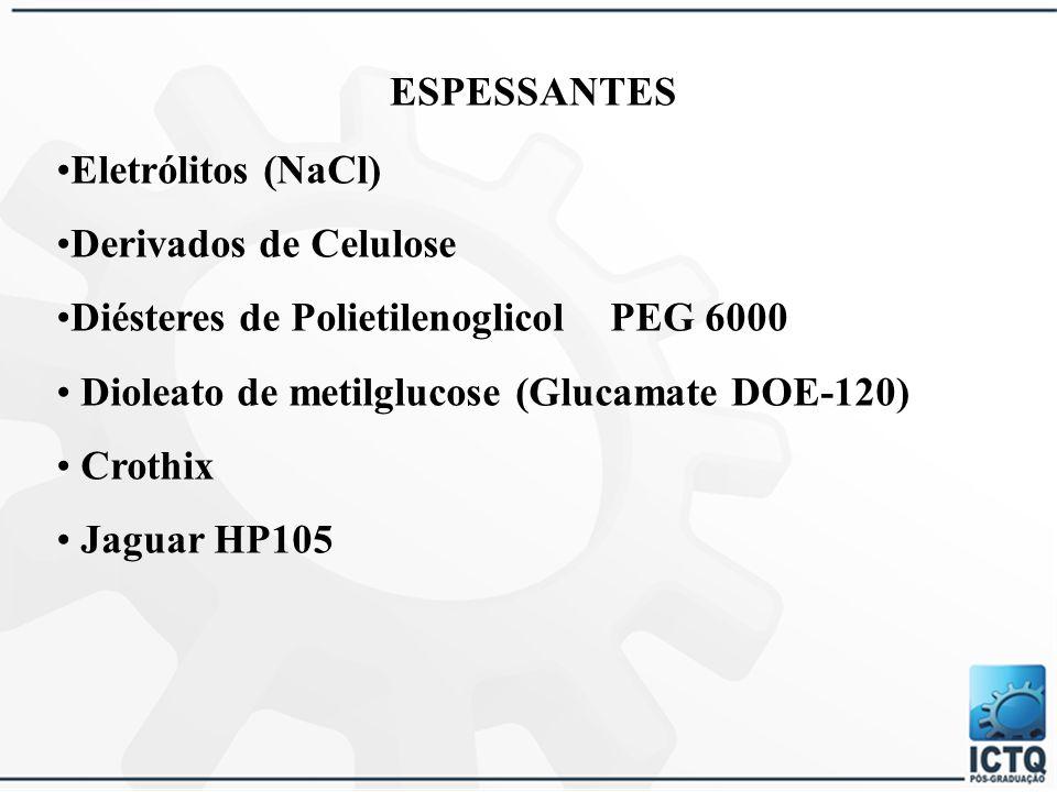 ADITIVOS OU AGENTES CONDICIONADORES 4.