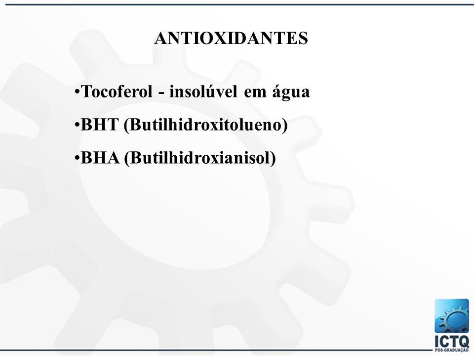 PRESERVANTES Metilparabeno Propilparabeno Formaldeído Imidazolidinilureia DMDM Hidantoína Quaternium 15 Metilcloroisotiazolinona e Metilisotiazolinona
