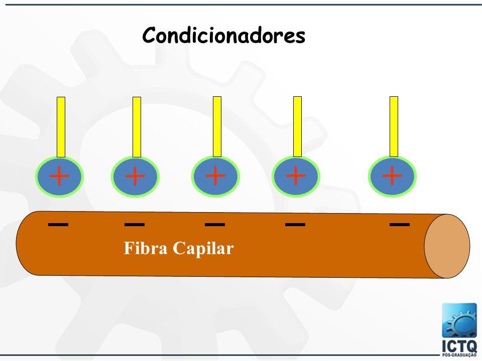 Caráter Catiônico Melhora Penteabilidade Formação de Filme na Superfície do Cabelo Faixa de pH = 3,50 – 5,00