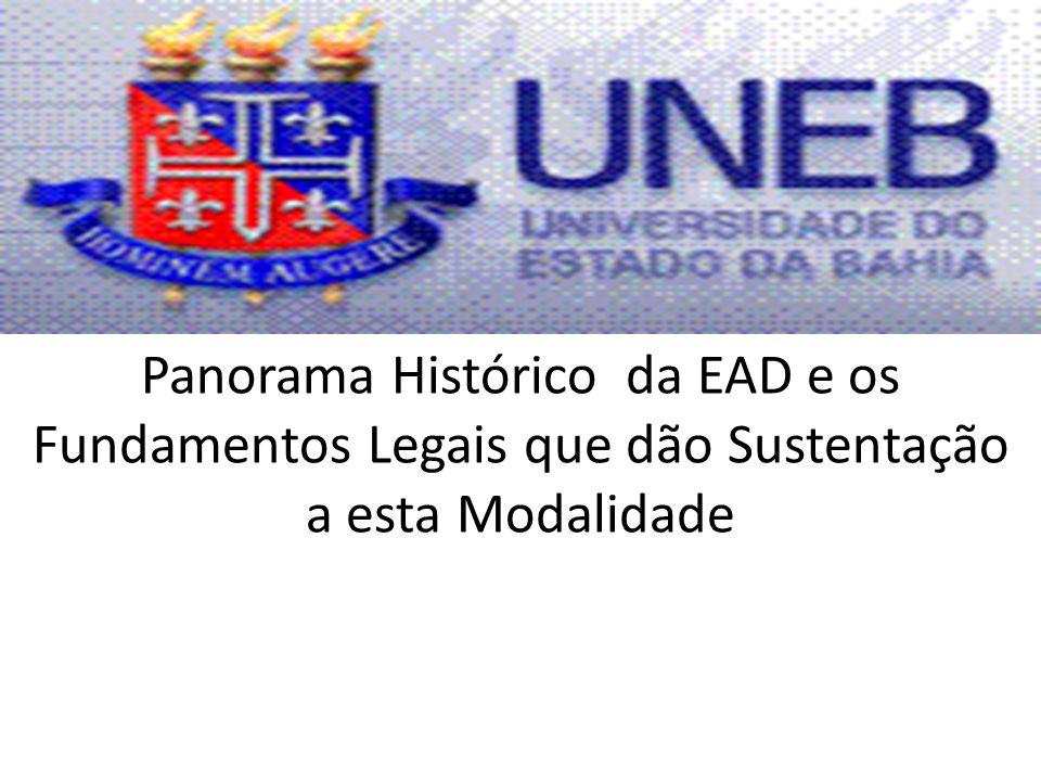 Panorama Histórico da EAD e os Fundamentos Legais que dão Sustentação a esta Modalidade