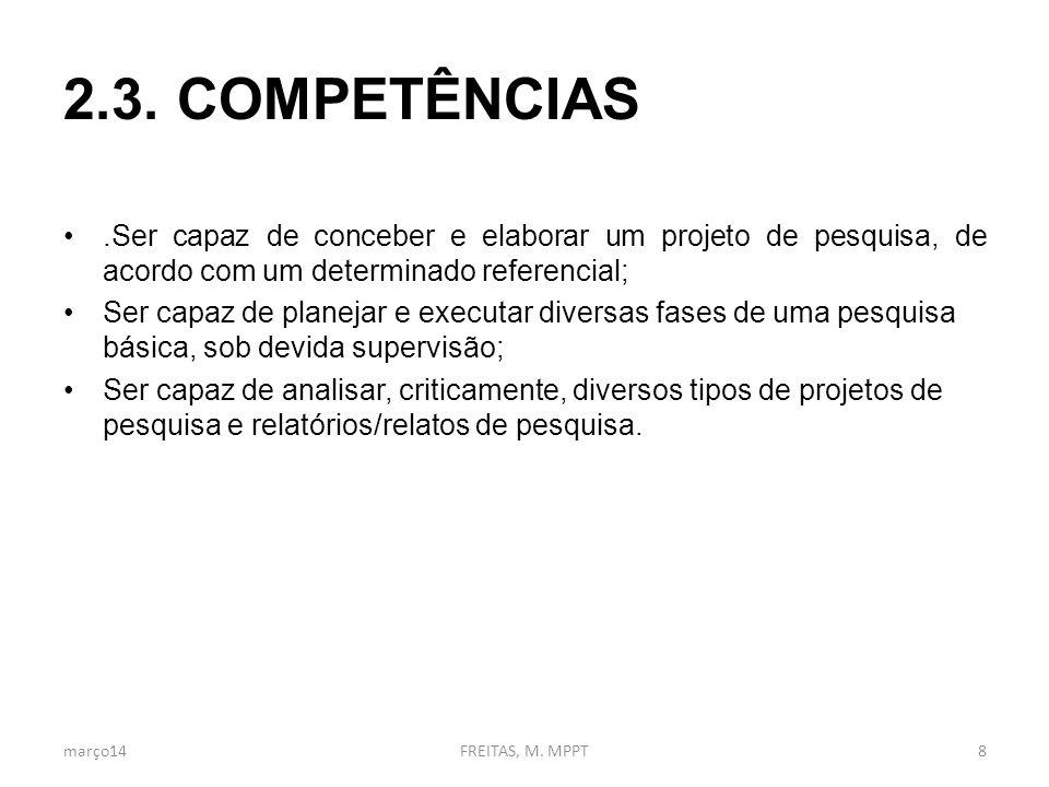 3. CONTEÚDOS PROGRAMÁTICOS março14FREITAS, M. MPPT9