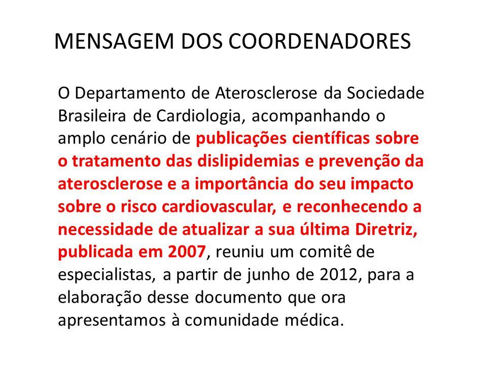 O Departamento de Aterosclerose da Sociedade Brasileira de Cardiologia, acompanhando o amplo cenário de publicações científicas sobre o tratamento das