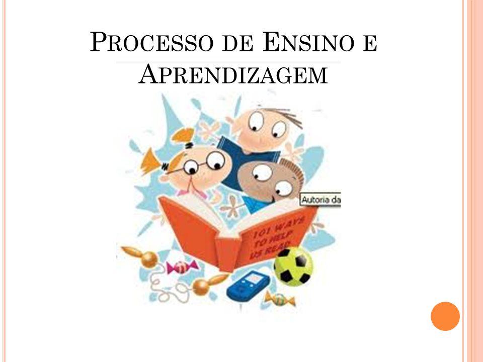 P ROCESSO DE E NSINO E A PRENDIZAGEM