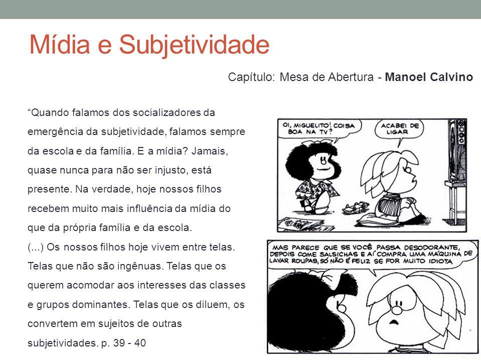 Mídia e Subjetividade 1.