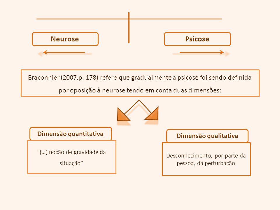 NeurosePsicose Braconnier (2007,p.
