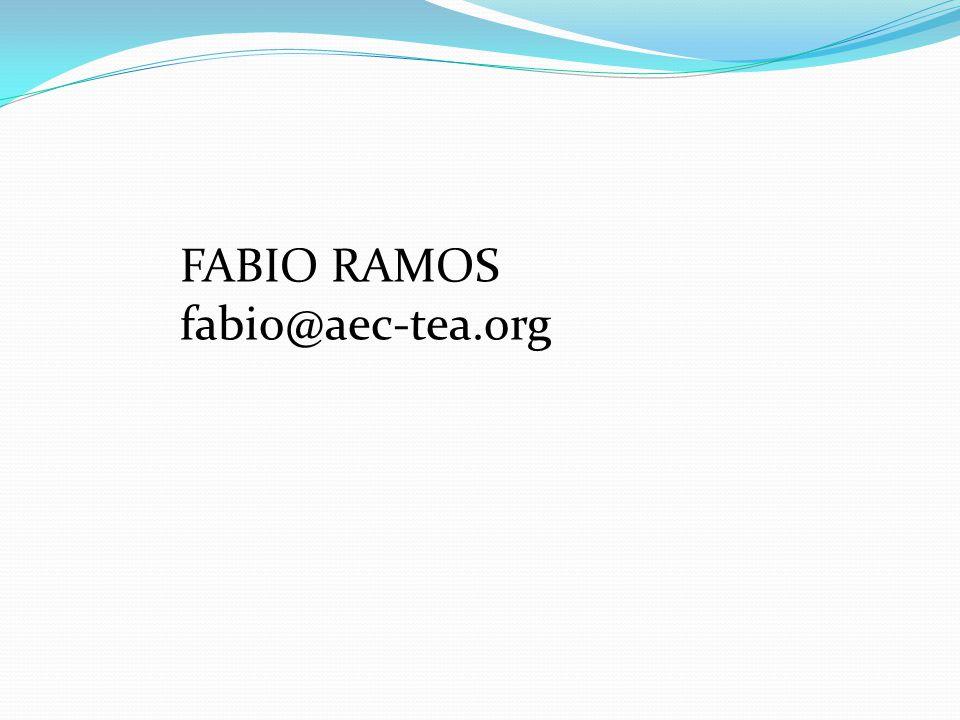 FABIO RAMOS fabio@aec-tea.org