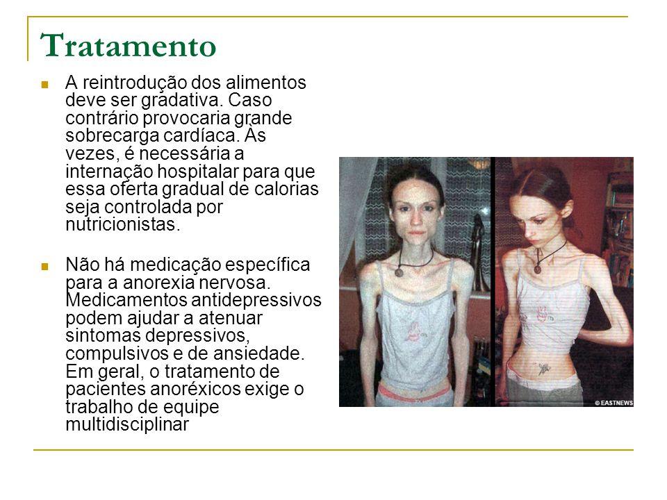Recomendações · Algumas profissões são consideradas de risco para a anorexia.