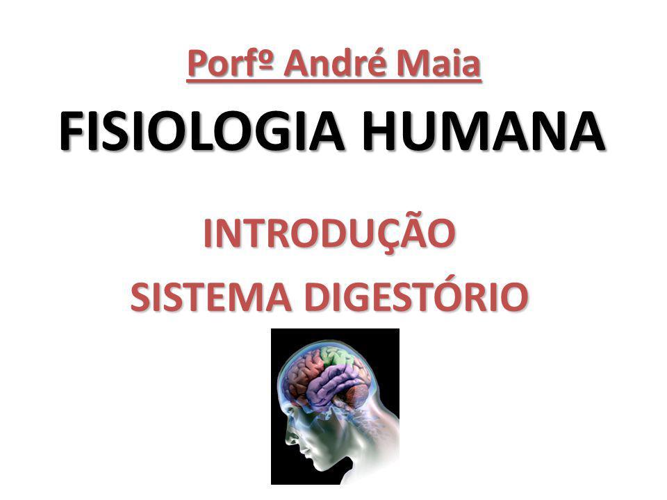INTRODUÇÃO Fisiologia: (Do gr.physis, 'natureza': p.