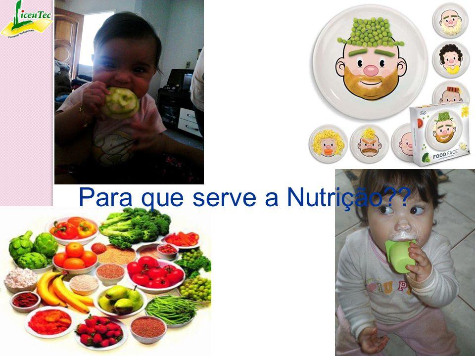 Para que serve a Nutrição??