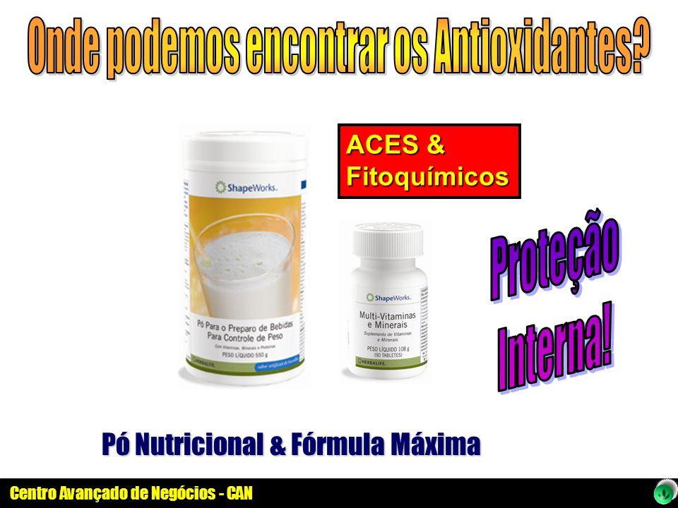 Centro Avançado de Negócios - CAN Pó Nutricional & Fórmula Máxima ACES & Fitoquímicos