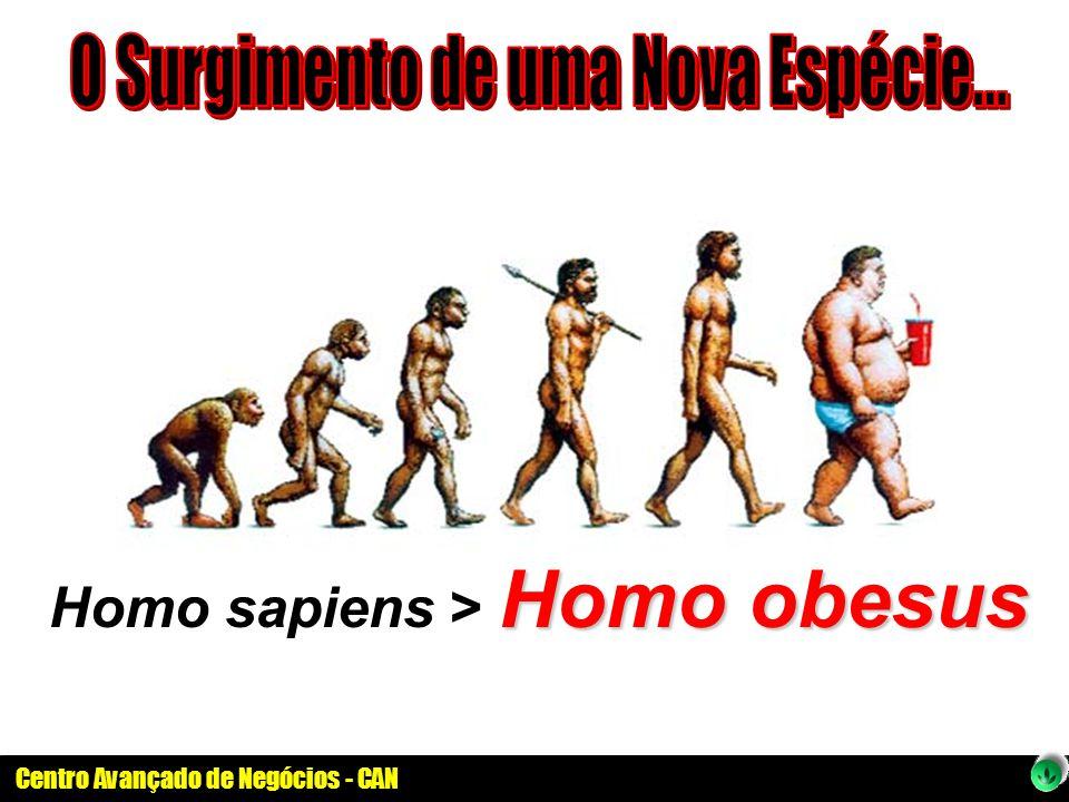 Centro Avançado de Negócios - CAN Homo obesus Homo sapiens > Homo obesus