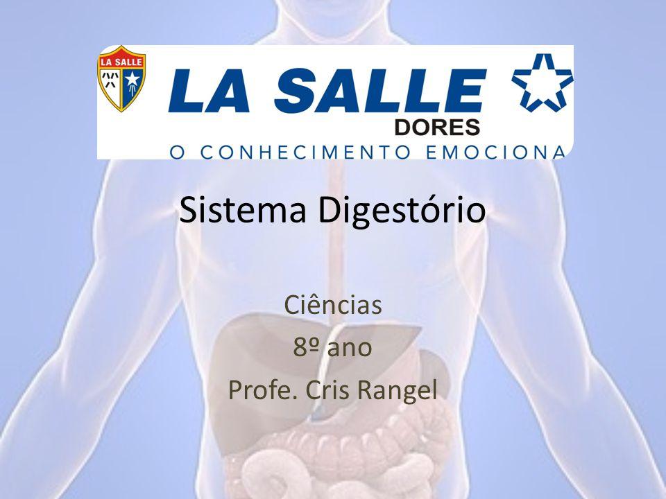 Sistema Digestório Ciências 8º ano Profe. Cris Rangel