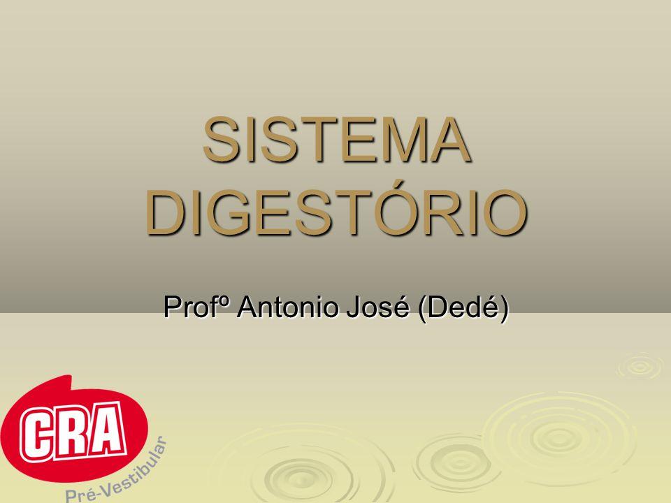 SISTEMA DIGESTÓRIO Profº Antonio José (Dedé)