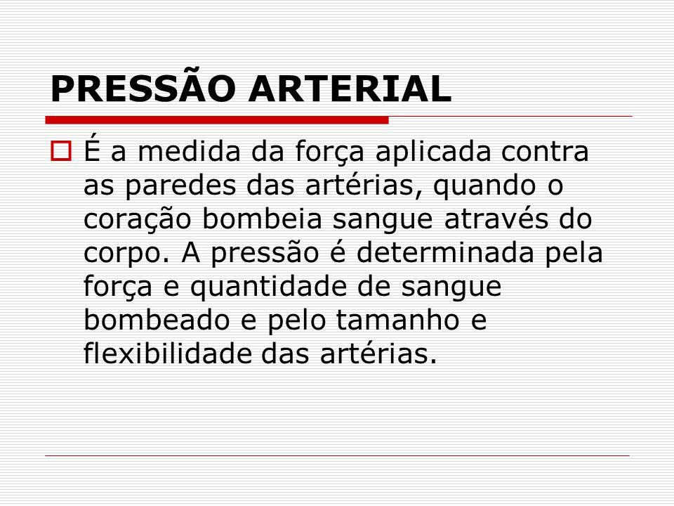 VALORES NORMAIS DA PRESSÃO ARTERIAL  - Os valores máximos estabelecidos pelo Consenso Brasileiro da Sociedade Brasileira de Cardiologia para indivíduos acima de 18 anos é de 120/80 mmHg.