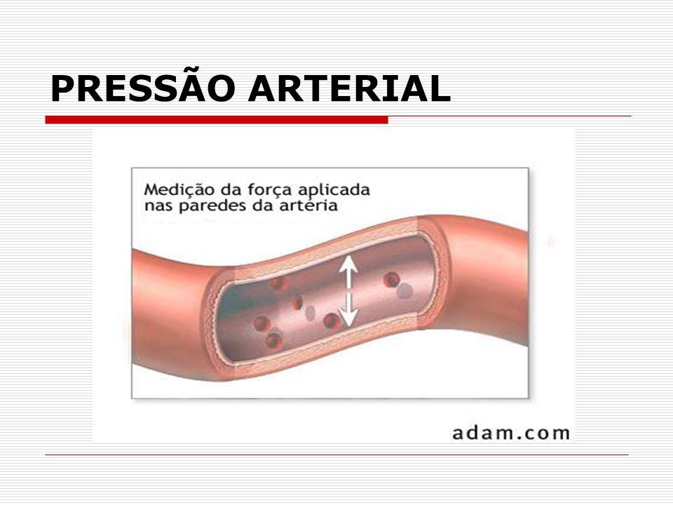 ESFIGMOMANÔMETRO É o instrumento utilizado para a medida da pressão arterial.