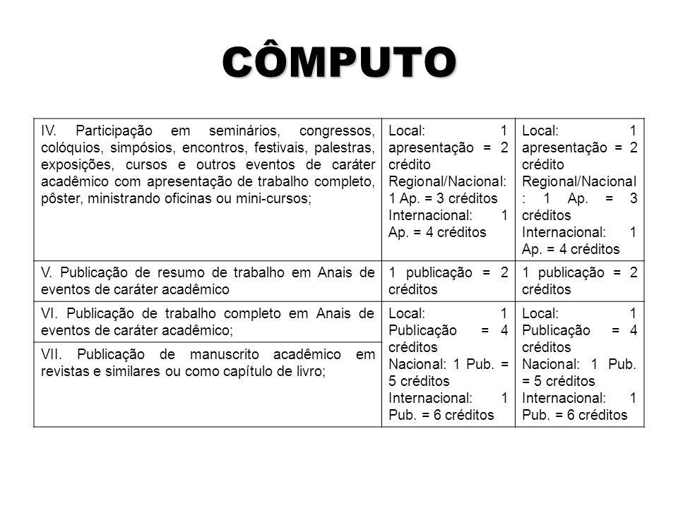 CÔMPUTO IV.