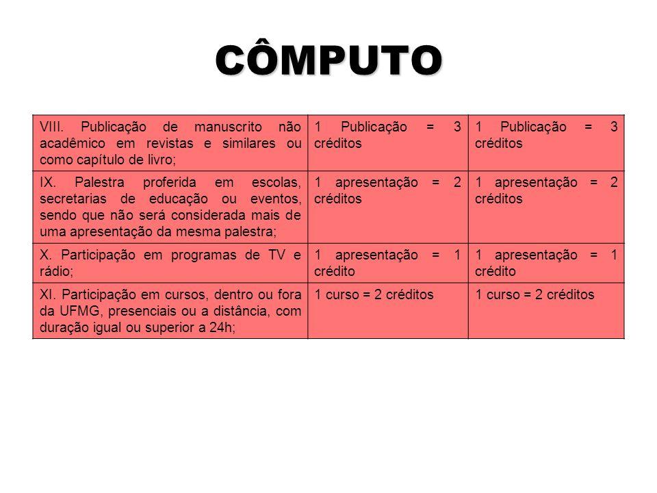 CÔMPUTO VIII.