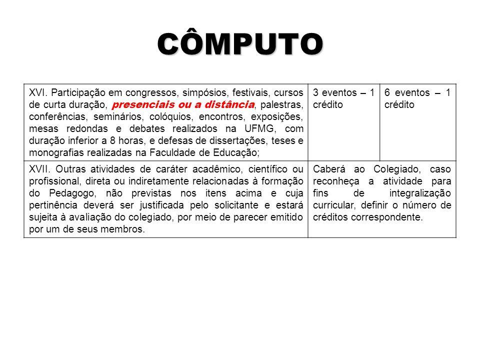 CÔMPUTO XVI.