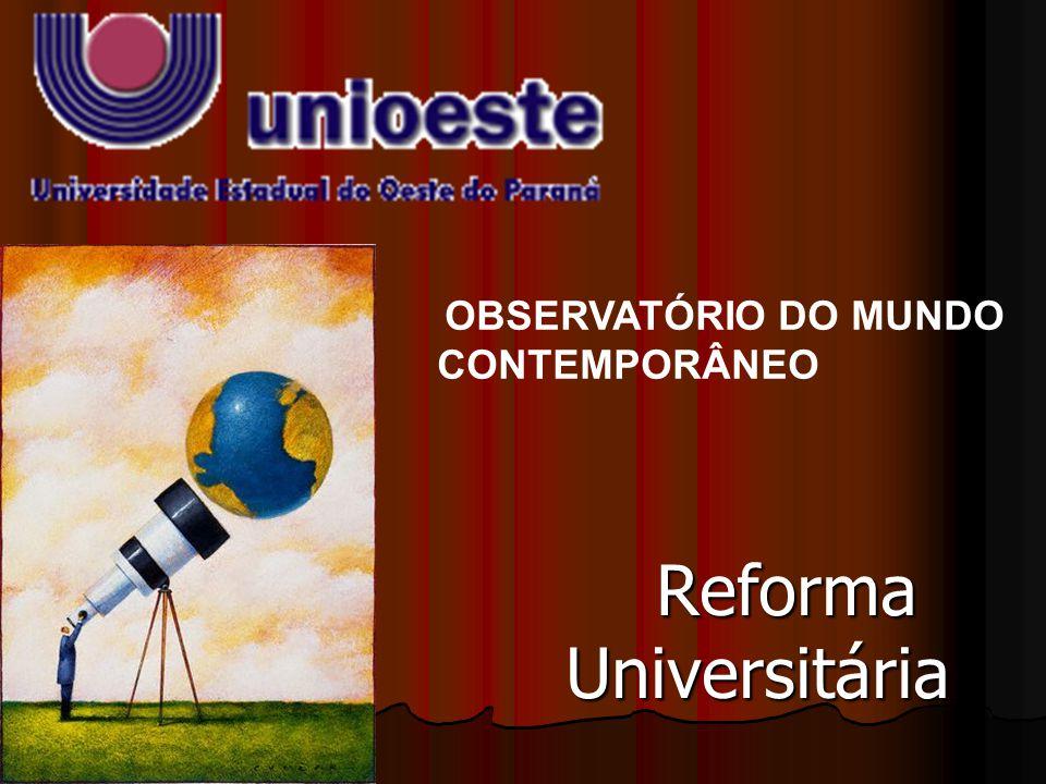 Reforma Universitária de Lula: O Fim da Universidade Pública A Reforma Universitária do Governo Lula/FMI que vem sendo implementada através de Medidas Provisórias, segue a mesma lógica de sua política econômica.