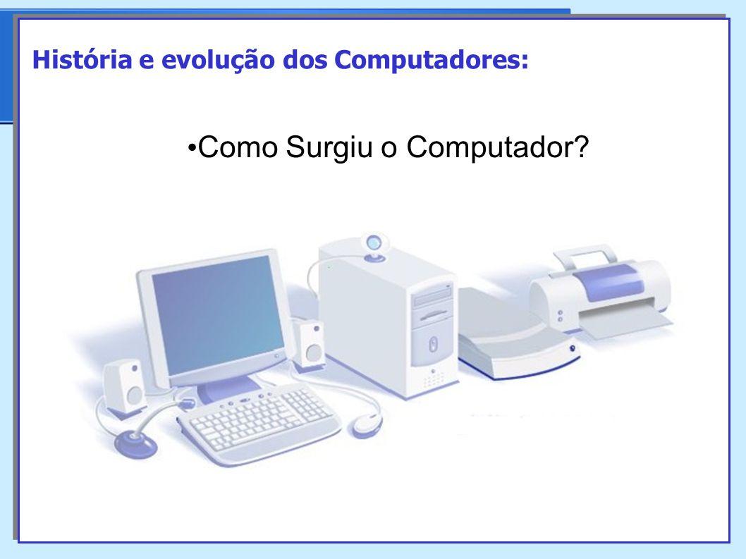 Como Surgiu o Computador? História e evolução dos Computadores: