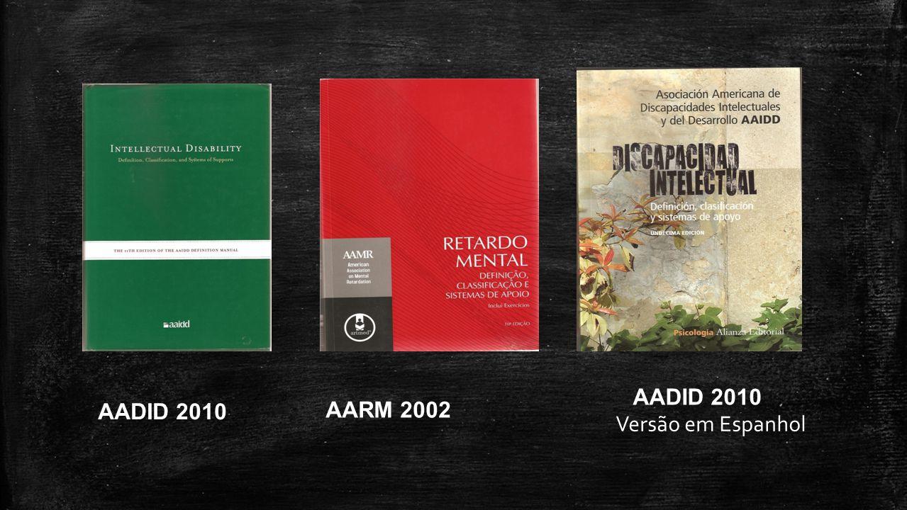 AADID 2010 AARM 2002 AADID 2010 Versão em Espanhol