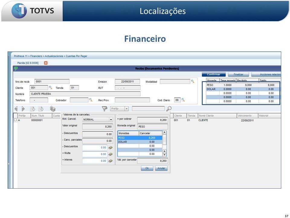 Financeiro Localizações 37